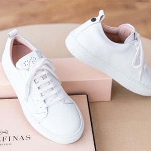 Josefinas Louise White Sneakers